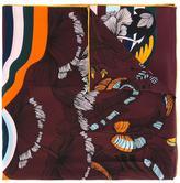 Fendi Hypnogarden print scarf