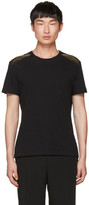 Alexander McQueen Black Feather T-Shirt