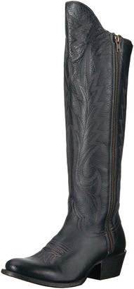 Stetson Women's Idol Western Boot Blue 7.5 Medium US