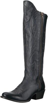 Stetson Women's Idol Western Boot Blue 8.5 Medium US