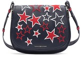 Tommy Hilfiger Stars Leather Saddle Bag