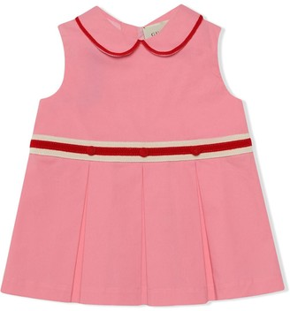 Gucci Kids Pleated Short Dress