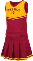 Colosseum Girls Youth Cardinal Iowa State Cyclones Pinky Cheer Dress
