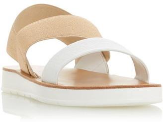 Dune London Lenia Double Strap Slingback Sandals