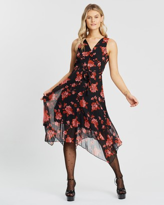 Dorothy Perkins Penelope Tie-Waist Pleat Skirt Dress