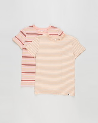 Cotton On Girl's Pink Basic T-Shirts - 2-Pack Core SS Tee - Kids - Size 3 YRS at The Iconic