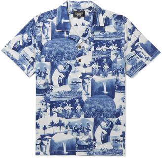 Ralph Lauren RRL Camp-Collar Printed Cotton-Jersey Shirt