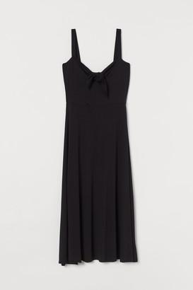 H&M Tie-detail Jersey Dress