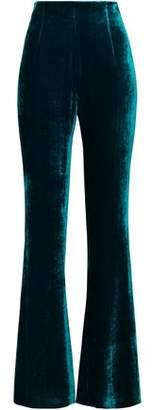 Galvan Velvet Flared Pants