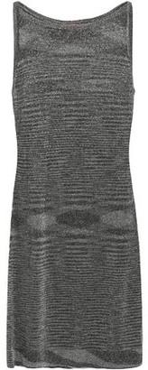 Missoni Metallic Stretch-knit Mini Dress