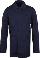 Fred Perry Midnight Navy Tonic Caban Mac Jacket