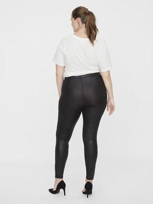 Junarose Shiny Leggings - Black