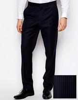 Asos Slim Fit Suit Pants In 100% Wool