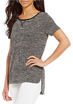 Daniel Cremieux Luna Stripe Knit Top