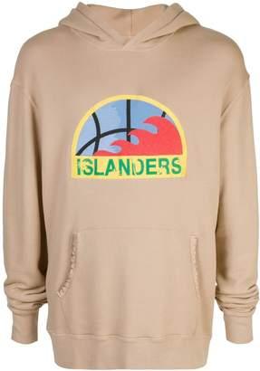 Just Don Islander print hoodie