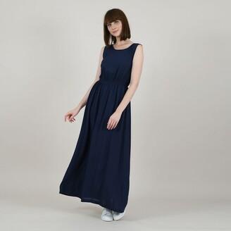 Molly Bracken Sleeveless Maxi Dress with Open Back