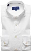 Eton Soft White Royal Oxford Shirt - Contemporary Fit