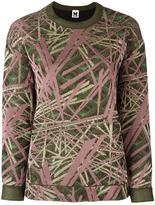 M Missoni abstract pattern sweatshirt