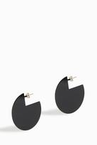 Isabel Marant Brass Disc Earrings