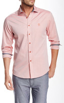 Vince Camuto Trim Fit Spread Collar Shirt