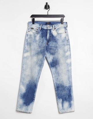 Polo Ralph Lauren boyfriend jean in bleach wash