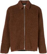 Marni textured jacket - men - Cotton/Polyester/Wool - 46