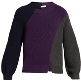 J.w.anderson Ribbed-knit Wool Sweater