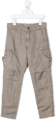 BRUNELLO CUCINELLI KIDS Panelled Cargo Trousers