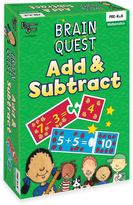 Brain Quest Add & Subtract Game