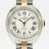 Cartier Women's W2CL0003 Cle De Midsize Analog Display Swiss Automatic Two Tone Watch