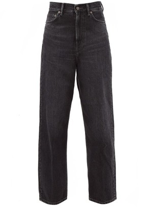 Acne Studios 1993 High-rise Straight-leg Jeans - Dark Grey