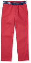 Ralph Lauren Childrenswear Suffield Belted Stretch Chino Pants