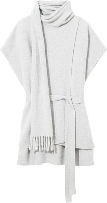 Proenza Schouler Cashmere Draped Sleeveless Top