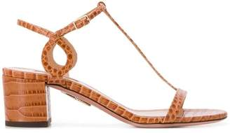 Aquazzura block heel sandals