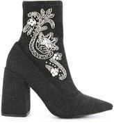 Senso Ziko II boots - women - Velvet/Synthetic Resin/Kid Leather - 35
