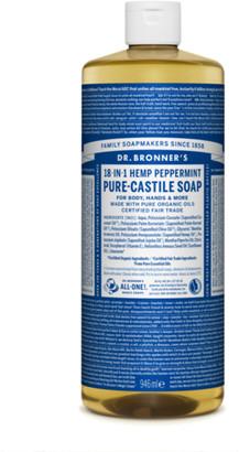 Dr. Bronner's Organic Peppermint Castile Liquid Soap 946Ml