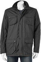 Urban Republic Men's Sherpa-Lined Twill Jacket