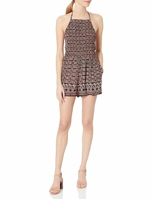 Angie Women's Smocked Bust Romper