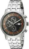 Tommy Hilfiger Men's Quartz Stainless Steel Casual Watch, Color:Silver-Toned (Model: 1791248)