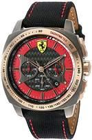 Ferrari 830294 'AERO EVO' Quartz Resin and Nylon Watch