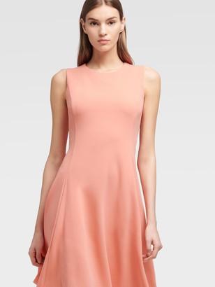 DKNY Sleeveless Fit-and-flare Dress