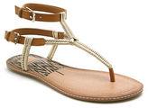 Dolce Vita Kendra Flat Plaited Ankle Strap Sandals