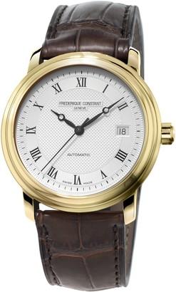Frederique Constant Fred Erique Constant Men's Automatic Watch Analogue XL Leather FC 303MC4P5
