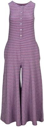 MM6 MAISON MARGIELA Striped Wide-Leg Jumpsuit