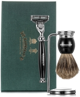 D.R. Harris 3 Piece Shave Set Ebony Badger
