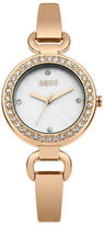 "Oasis Rose Gold Tone Bracelet Watch [span class=""variation_color_heading""]- Antique Gold[/span]"