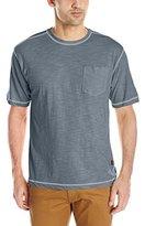 Stanley Tools Men's Workwear Poly/Cotton Slub T-Shirt Contrast Stitch