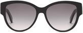 Saint Laurent Oval-frame acetate sunglasses