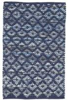 Dash and Albert Rugs Denim Hand-Woven Indigo Area Rug