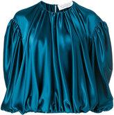 Gianluca Capannolo gathered oversized blouse